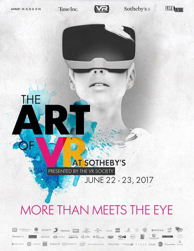 .@TheVRSociety announces the 'The Art of VR' festival, to be held in #New York:  http:// bit.ly/2rtqrEc  &nbsp;   #Art #VR<br>http://pic.twitter.com/yy1czZnnnC