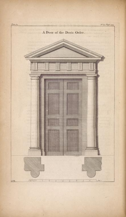 Three architectural engravings of doorways from 1756 by Isaac Ware depicting Doric Ionic and Corinthian orders from the NY Public Library.pic.twitter.com/ ...  sc 1 st  Twitter & NYCAesthetic on Twitter: