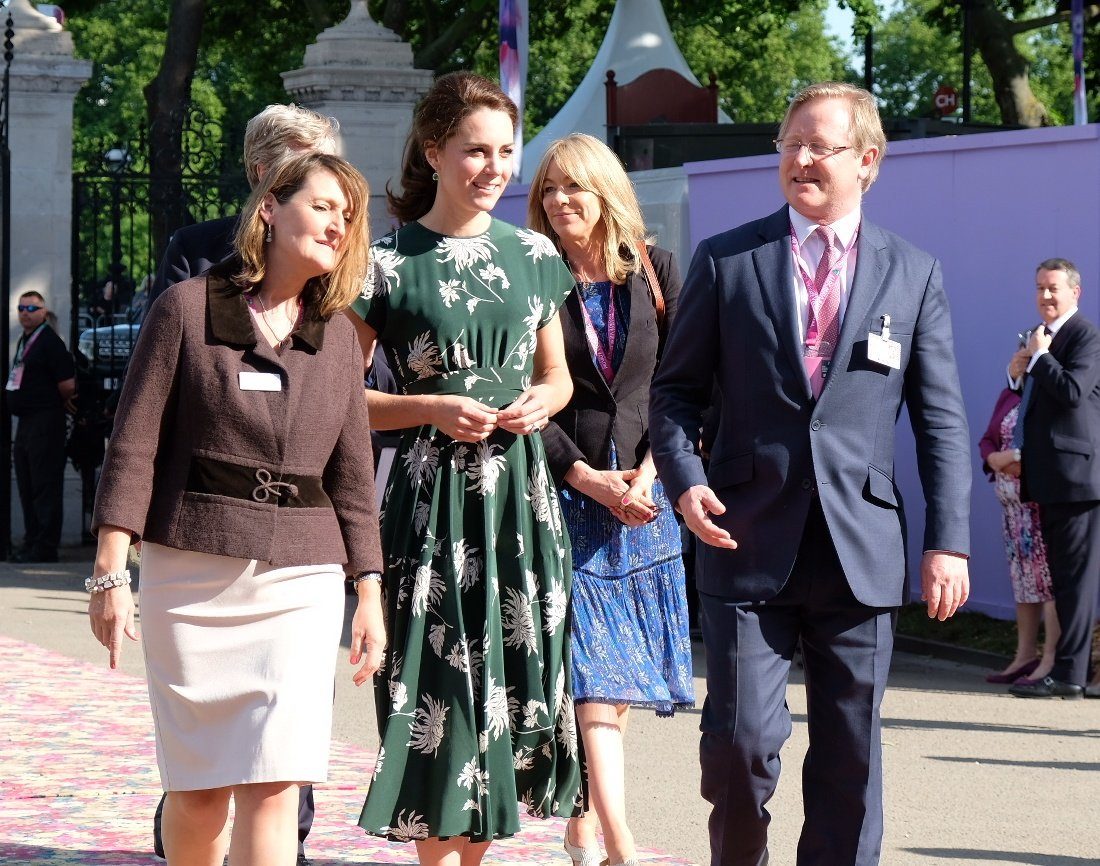 Members of The Royal Family have arrived @The_RHS Chelsea Flower Show in London. #RHSChelsea