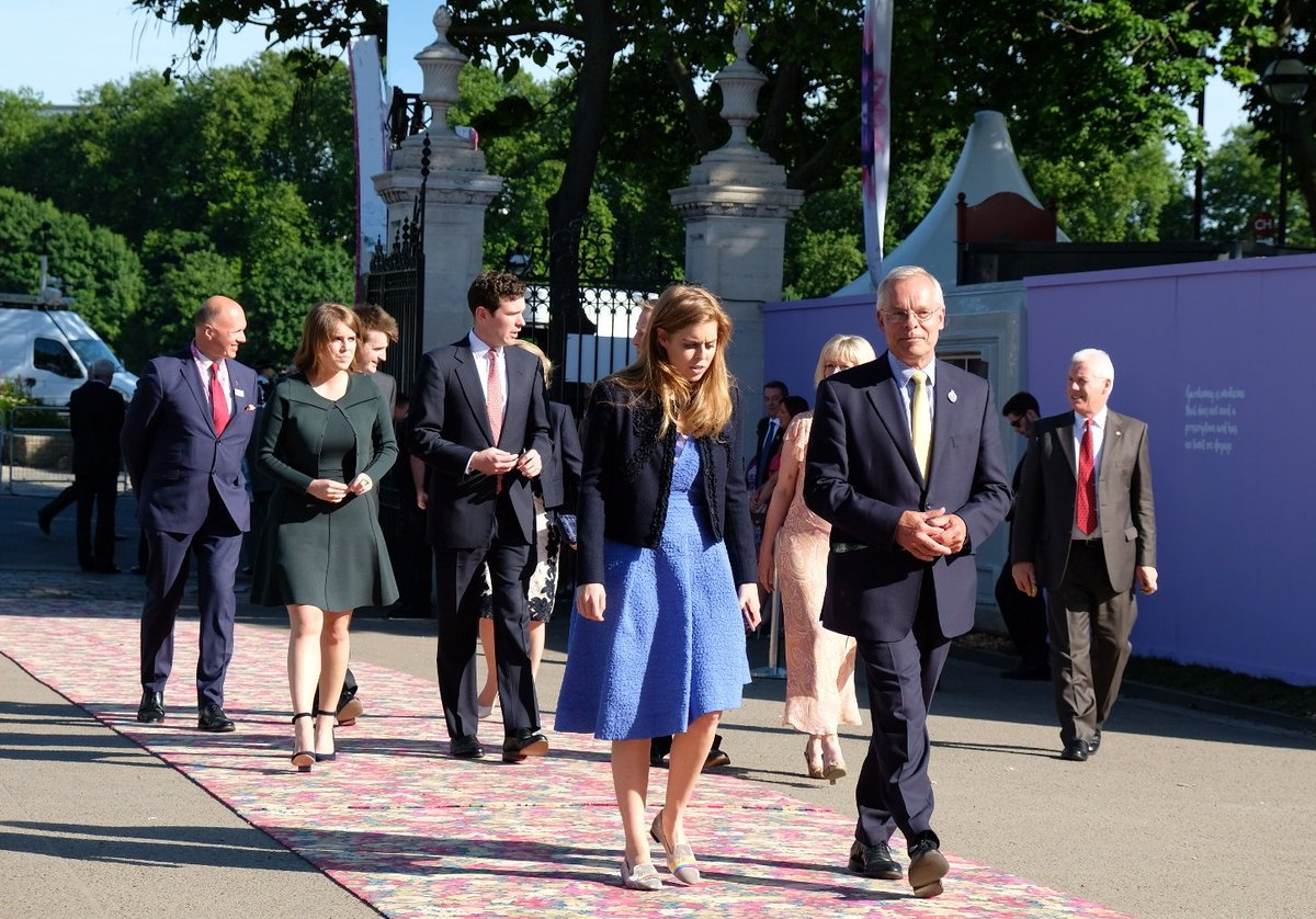 Kate at Chelsea Flower Show