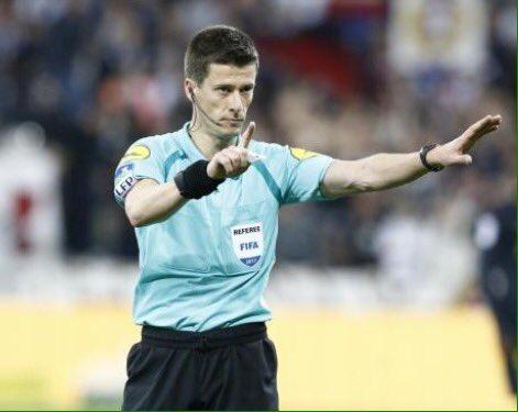 Benoit #Bastien arbitrera la finale de la @coupedefrance entre le #PSG et #Angers. #SCOPSG