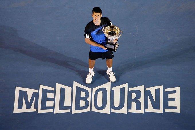 Happy 30th Birthday to Novak Djokovic, Australian Open 2008.