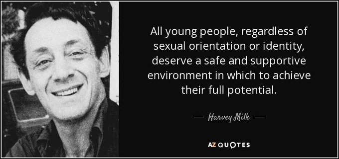 Happy 87th Birthday, Harvey Milk. Thank you for your courage. You will always be one of my heroes.