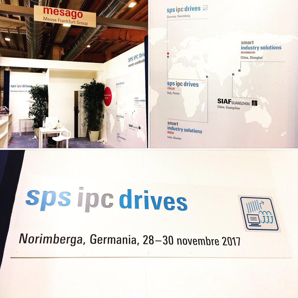 The preparations for @spsitalia are in full swing! Tomorrow you will meet us in hall 3 #sps_live #automation #spsitalia #parma #industrie40<br>http://pic.twitter.com/ERO3gzfxXg