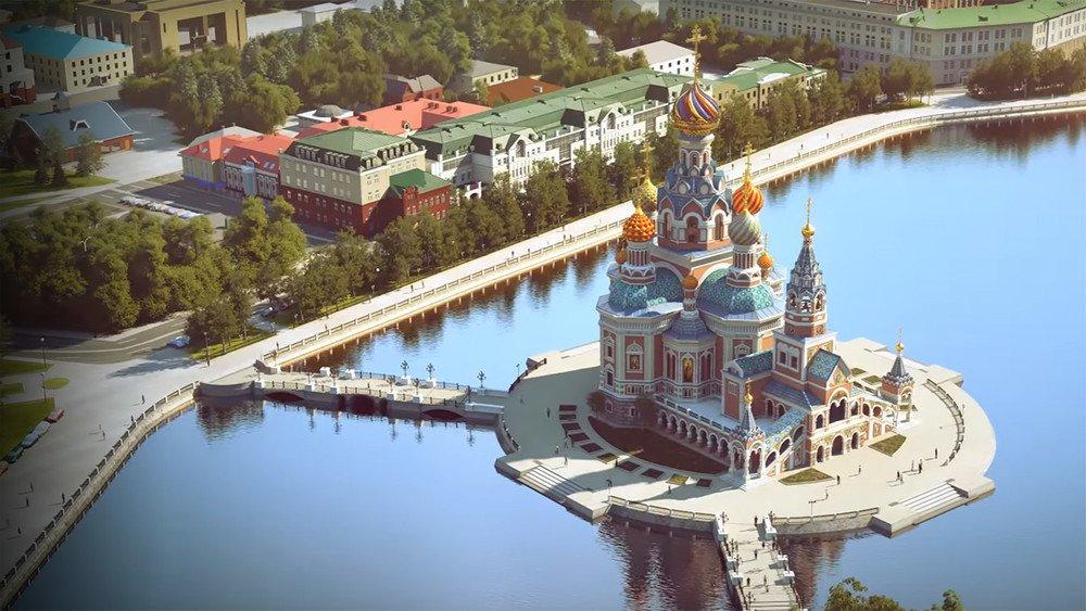 Храм-на-воде будут строить. Даже если это нарушает закон. Даже если жители Екатеринбурга против: https://t.co/RRHDAhQPaK. Эту энергию бы...