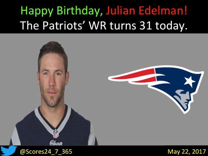 happy birthday Julian Edelman!