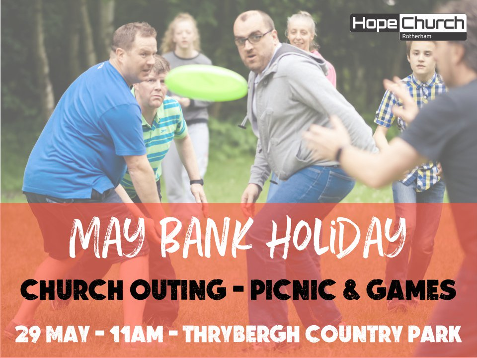 This time next week it's a bank holiday! We hope you'll have joined us for our day out at Thrybergh Country Park from 11....