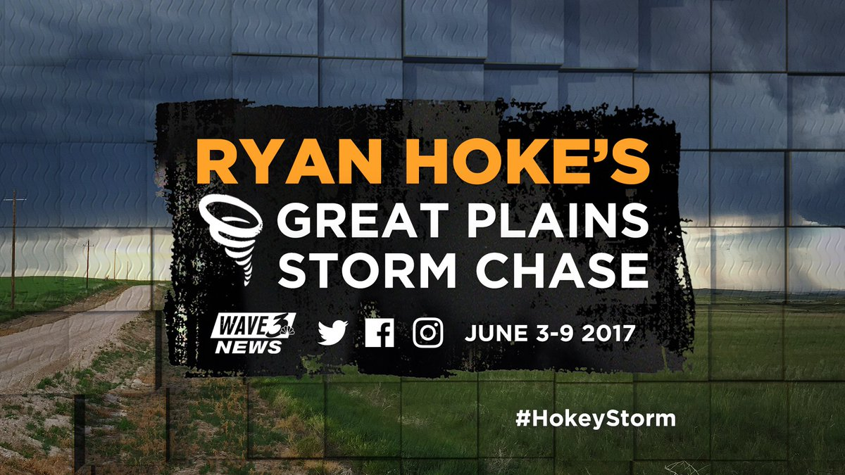 LESS THAN 2 WEEKS AWAY: I'm gearing up for my 10th annual storm chasin...