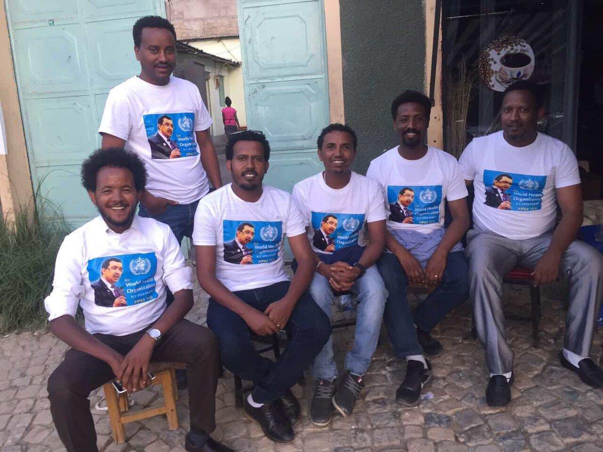 The management of Mekelle university supports Dr Tedros #WHO @DrTedros @MekUniETH; history in z making! @DrSenait<br>http://pic.twitter.com/A506pGCLDq