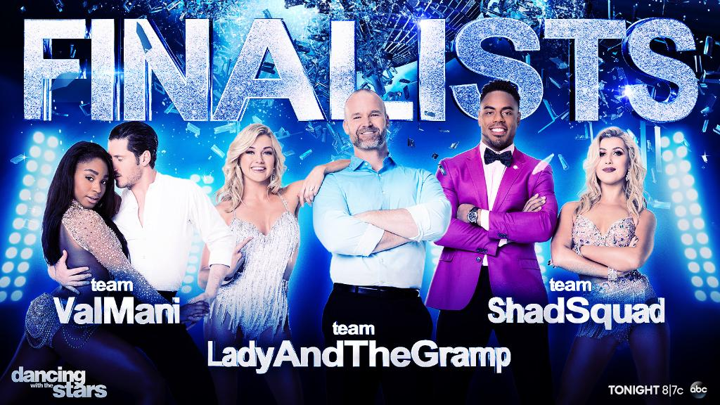 Wishing these 3 couples the best of luck! 💛💙💜 #DWTS https://t.co/N0Ws4...