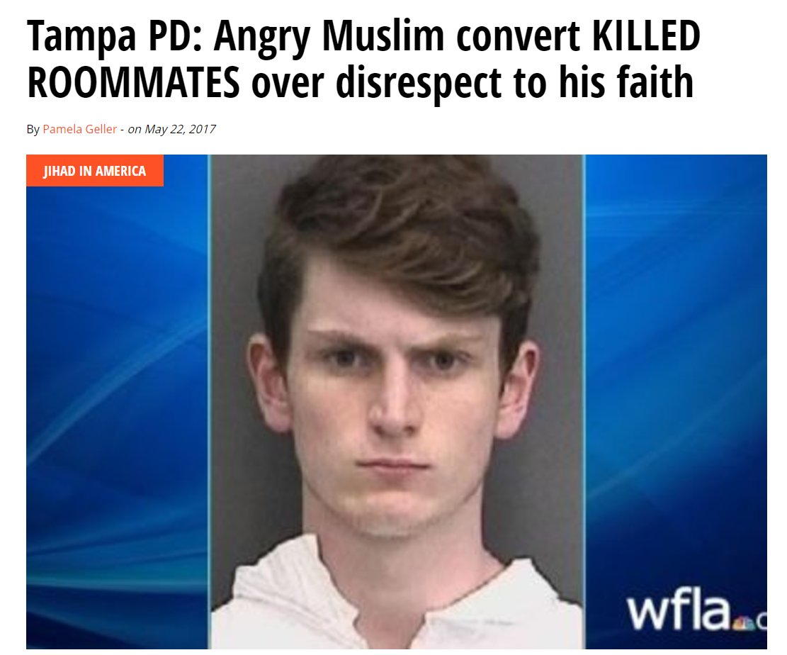 Islam in ANY form, color, race or whatever - IS DANGEROUS TO AMERICA!  https://t.co/Nyhn2jEIMI