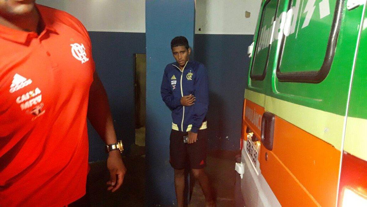 Exame detecta fratura na costela, e Gabriel vira desfalque no Flamengo https://t.co/0ZeA1BqC5D