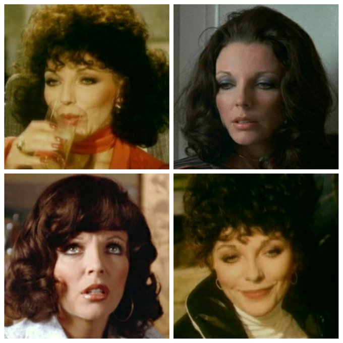 Joan Collins is 84 today, Happy Birthday Joan!