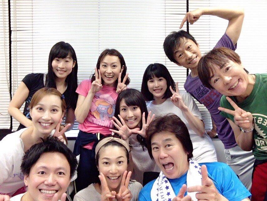 昨日はガラピコぷ〜コンサートツアーリハーサル。兄姉大集合でした