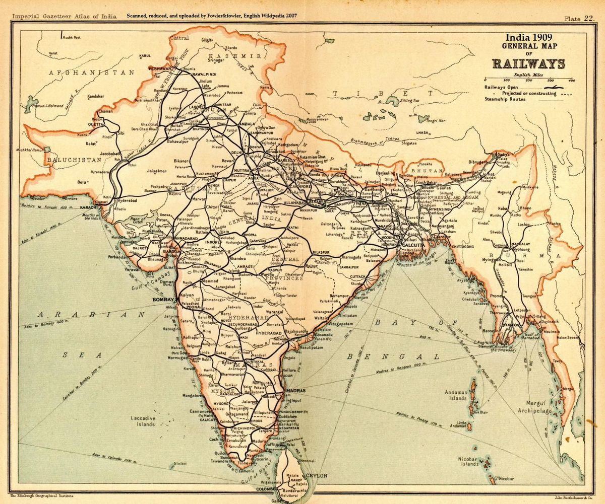 Odd Lots: What a 150-year old Indian railway system tells us about trade https://t.co/64A7dO3Uyo