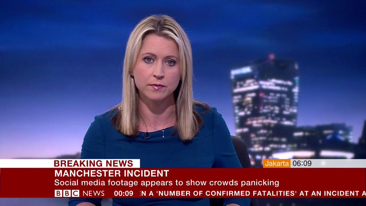 """Bbc News Twitter: BBC Breaking News On Twitter: """"Witness At Manchester Arena"""
