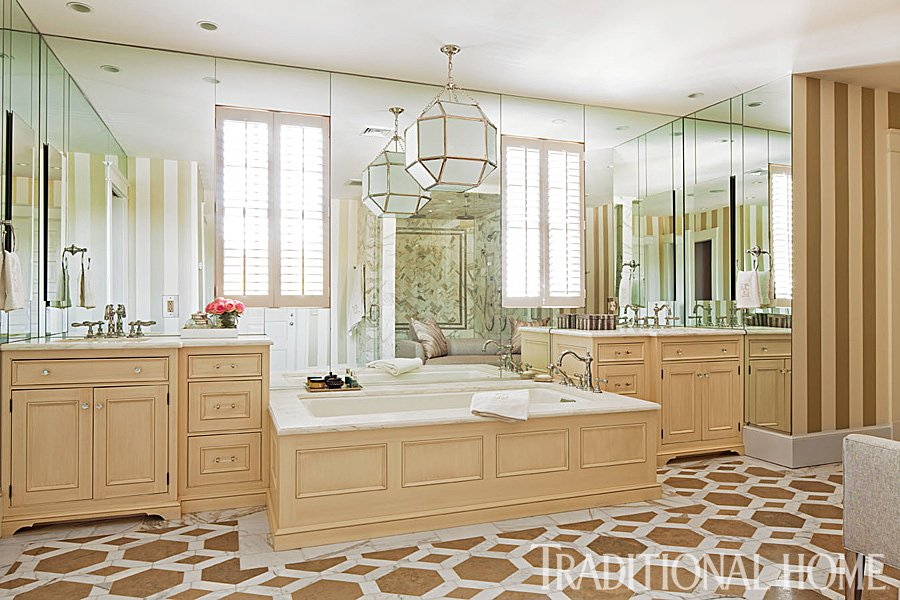 """Find inspiration in @traditionalhome&#39;s """"Beautiful Master #Bathroom Ideas,&quot; featuring our Studio Moderne Stone #tile  http://www. traditionalhome.com/design0/beauti ful-master-bathroom-ideas?page=4 &nbsp; … <br>http://pic.twitter.com/ELLIWkyWcQ"""