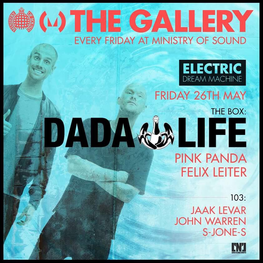 1st London show of the year this Friday for @dadalife. https://t.co/6r2adoBPiS