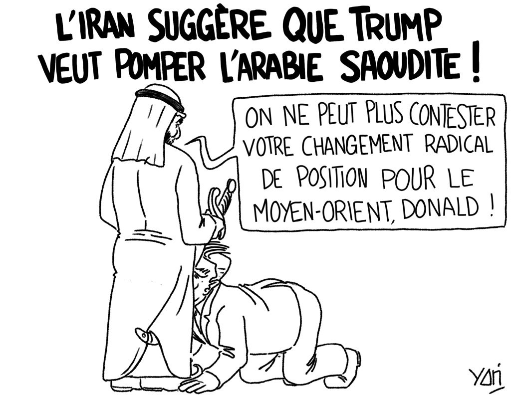 Kamasutra contractuel Source :  http:// tinyurl.com/mo6f3eb  &nbsp;   #trump #ArabieSaoudite #dessindepresse #USA #petrole #Dollar<br>http://pic.twitter.com/zsts2OeBoY