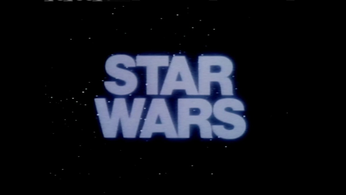 40 years ago in theaters not so far, far away.... #StarWars40th https:...