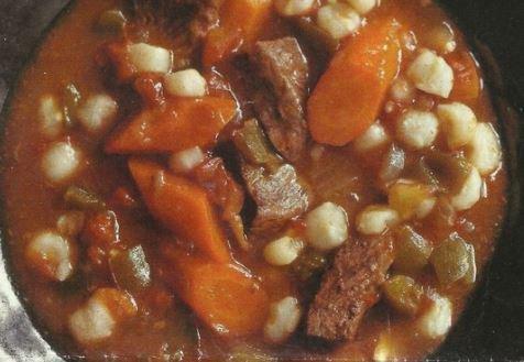 Hominy Beef Stew