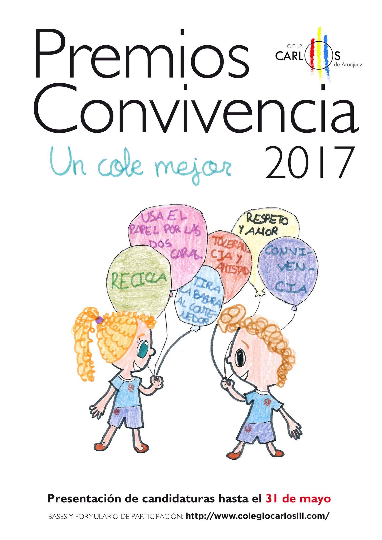 Resultado de imagen de premios a la convivencia colegio carlos iii