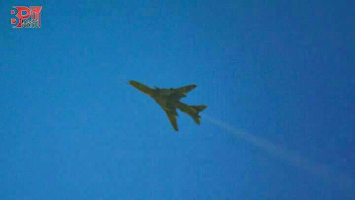 Daraa: SyAF Su-22 pictured today as government launched many airstrikes on Rebel-held Daraa