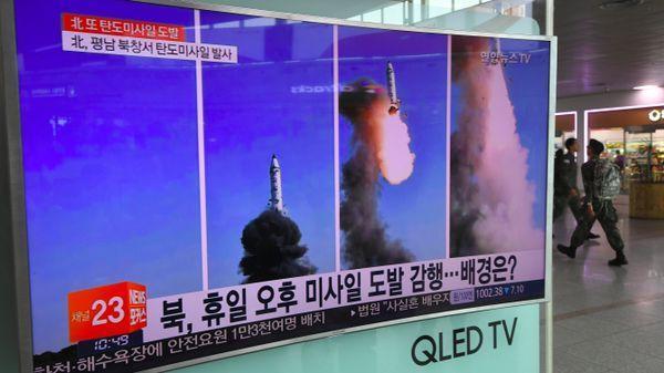 Nouveau tir, et toujours la même question : comment arrêter les ardeurs belliqueuses de Kim Jong-Un. Revue de presse https://t.co/NpdryeC8JA