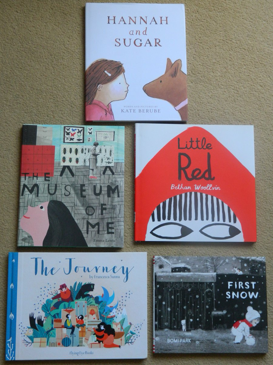 We want to read them all at once!  These beauties from @KlausFluggePr shortlist are our Monday #mustreads #KFP17 @AndersenPress<br>http://pic.twitter.com/DHwhN0bZLp
