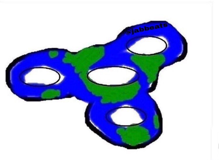 How can the earth be flat if it's spinning?🤔