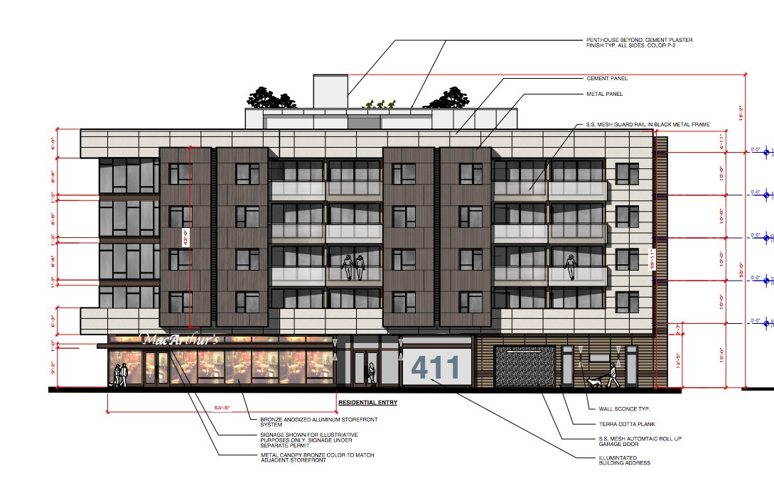 Oakland Built On Twitter 411 W Macarthur Proposal For 5 Story 20