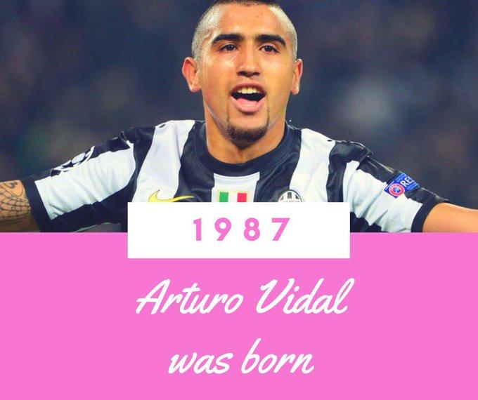 Happy Birthday to Arturo Vidal!
