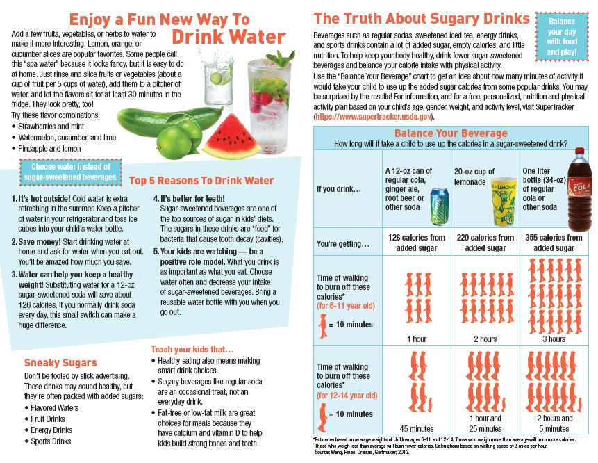 Compelling reasons to offer kids water instead of sugar-sweetened drinks: https://t.co/OunyJKIba8 https://t.co/hpW440wwju