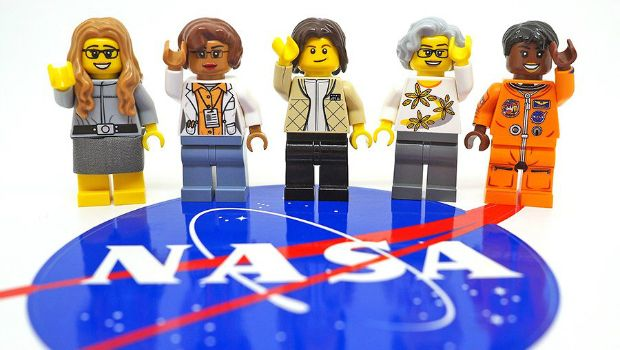 The new LEGO NASA women feature leading figures in space, who happen t...
