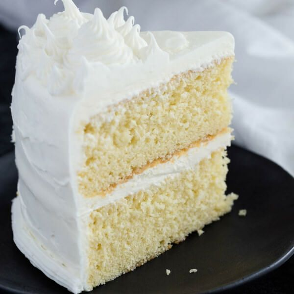 Basic Vanilla Cake Recipe