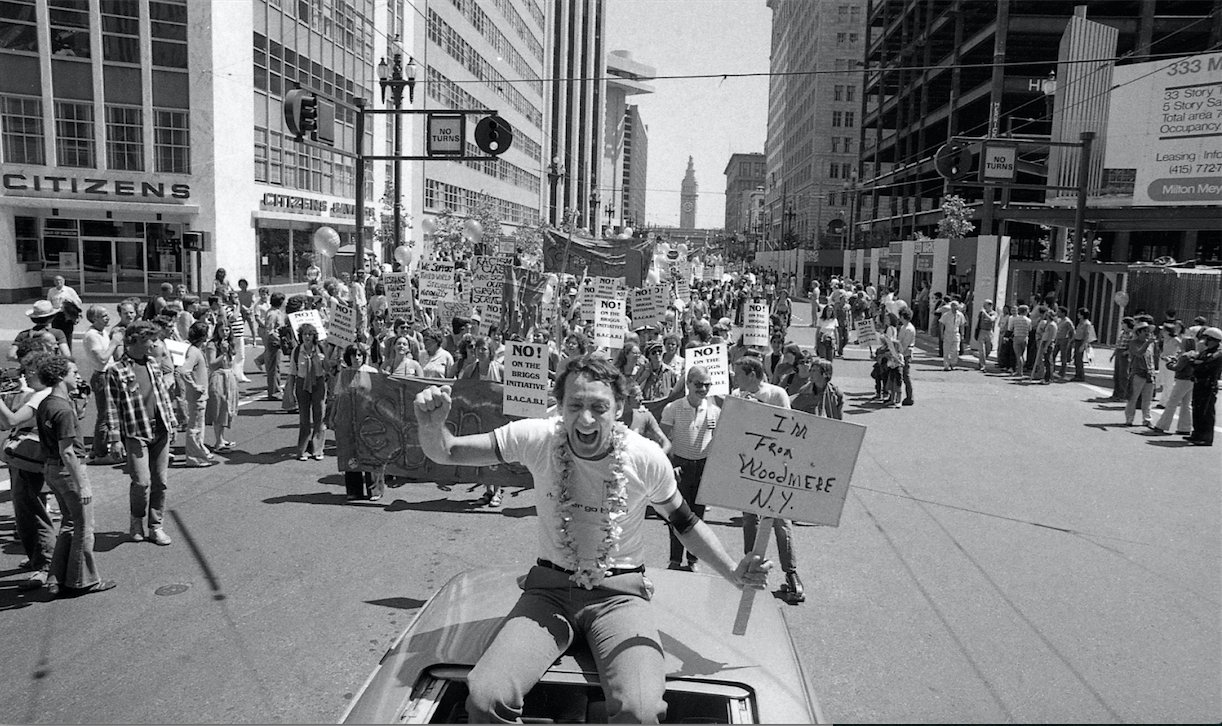 Happy birthday Harvey Milk. ( : Terry Schmitt/The Chronicle)