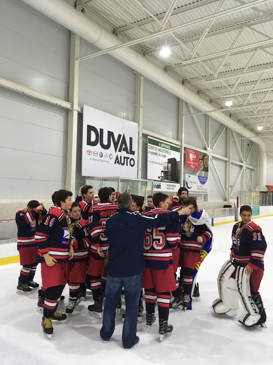 2004 Prospects defeat Team SCM 5-1 to capture the Montreal Super Challenge Championship #YesSir #greatweekend #merci <br>http://pic.twitter.com/xIc6U1HCMY