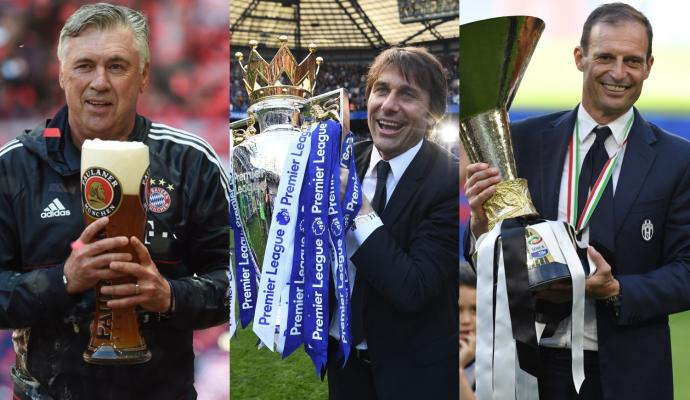 #Ancelotti, #Conte, #Allegri...Italians do it Better: see the video here  #Bayern #Chelsea #Juventus  http:// bit.ly/2qOogtT  &nbsp;  <br>http://pic.twitter.com/X1IKIpGX8W
