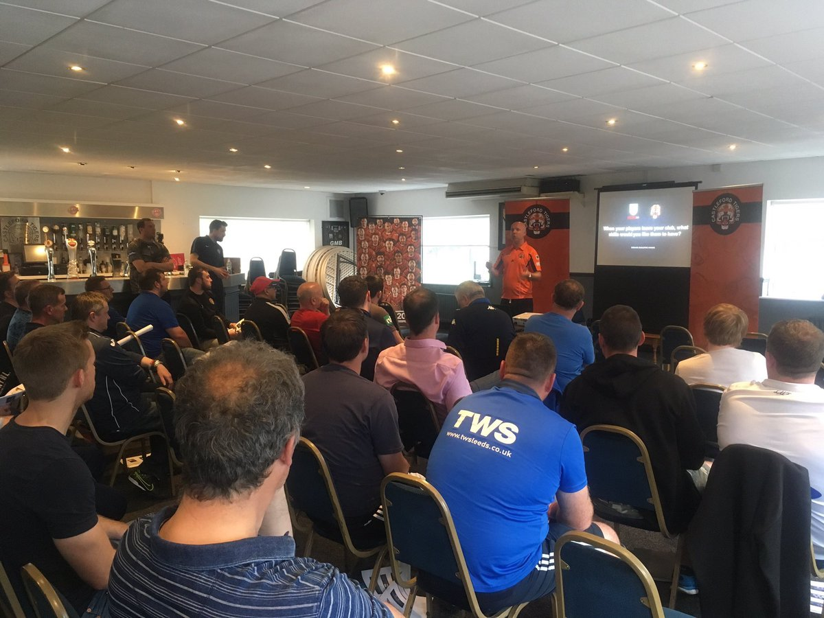 Wow! Blown away by the interest, input &amp; positive comments following our first joint @CTRLFC &amp; @WestRidingFA @ETP_RL workshop #sharing <br>http://pic.twitter.com/0p39EPKUUR