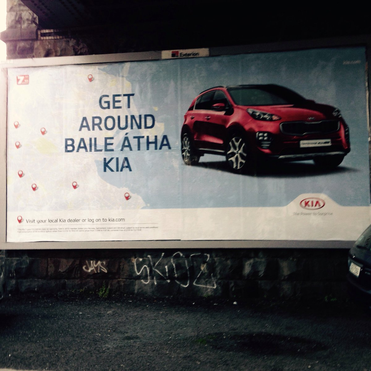 GO TOBANN!!!  I want a #KIA car  #GAEILGE #AnEuroGaelach #BÁC #KIAmotors<br>http://pic.twitter.com/g2lvMkPzZR