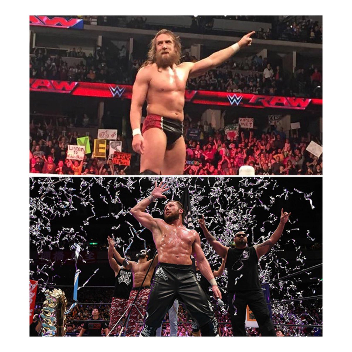 I hope to see this at a #WrestleKingdom one day @KennyOmegamanX @WWEDanielBryan #NJPW #WWE<br>http://pic.twitter.com/CDJtHeEgFR