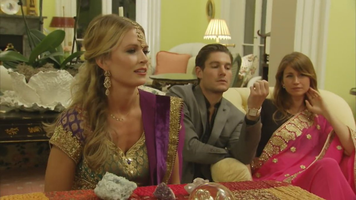 Inside the #SouthernCharm Indian dinner: Why @C_Conover asks if anyone...