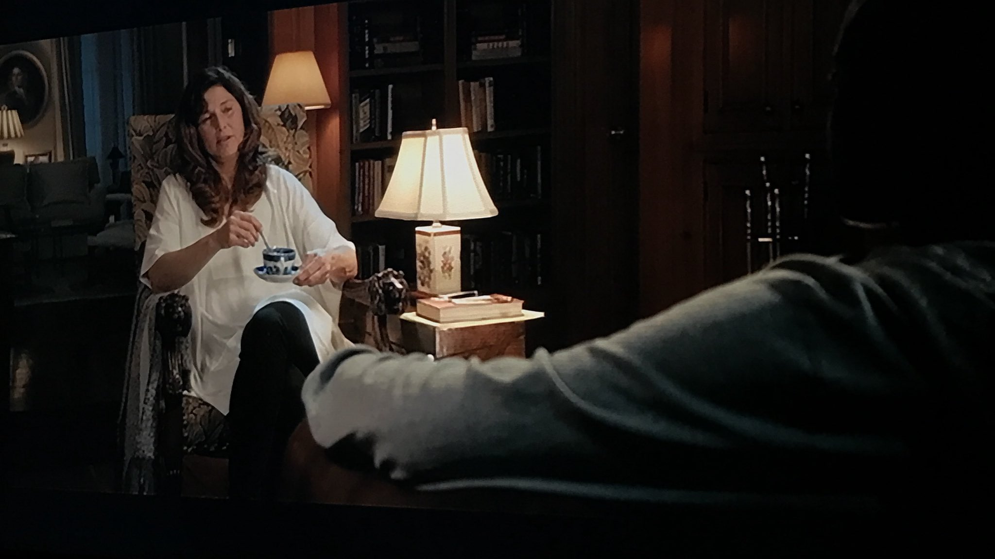This Chris/Missy scene is supposed to be like Clarice/Hannibal in 'Silence of the Lambs' #GetOut Dir. Commentary https://t.co/jb8BMX8oQ3