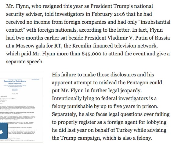 Flynn said he'd be in jail if he did 1/10th of what Hillary did. So what if he did infinity times more? https://t.co/YD4Qgn4RP7