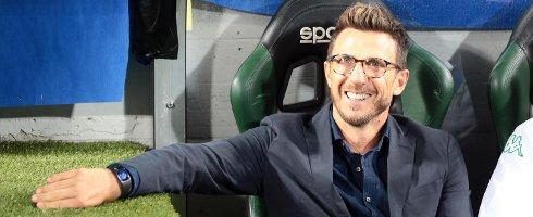 "#Sassuolo Coach Eusebio Di Francesco is coy on #ASRoma rumours - ""if there's interest, we'll talk about it later…""  http://www. football-italia.net/102988/edf-%E2 %80%98roma-we%E2%80%99ll-talk-later%E2%80%A6%E2%80%99 &nbsp; … <br>http://pic.twitter.com/G03D7lInCj"