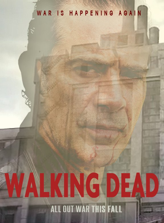 We #TwinPeaks -ified #TheWalkingDead. Who's ready for Season 8?? https...