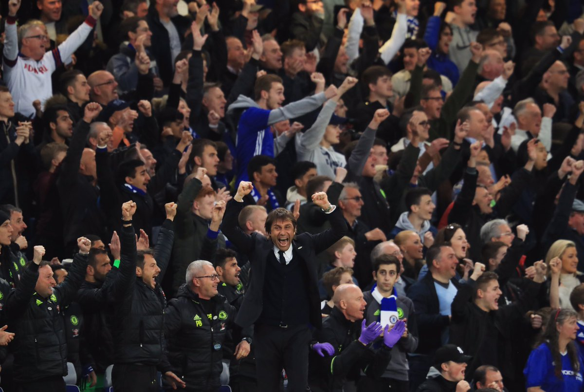 Congratulations to Antonio Conte - named Barclays Premier League Manager of the Year!