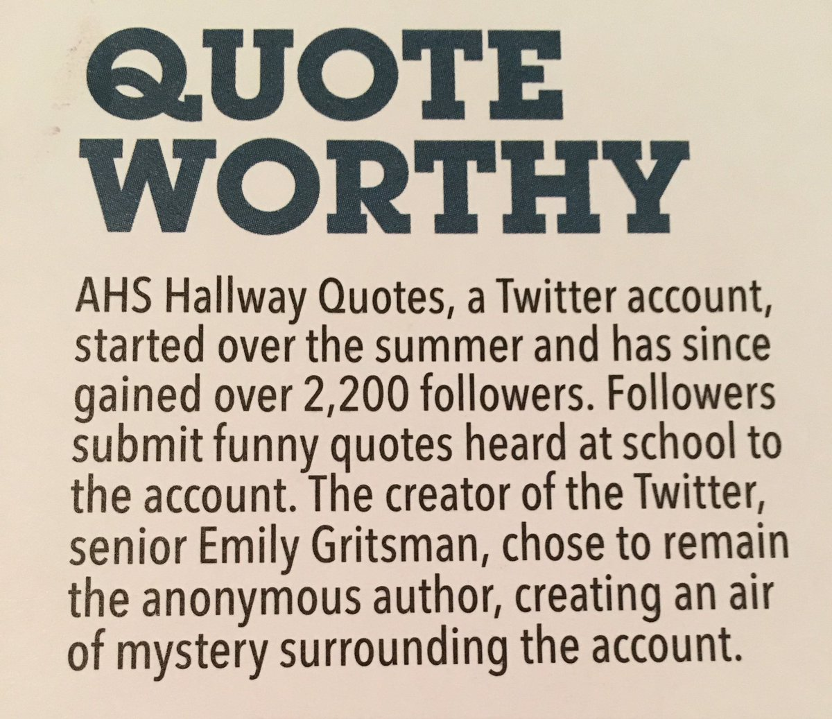 """Supporting Quotes Ahs Hallway Quotes On Twitter """"i've Got An Interview In The"""