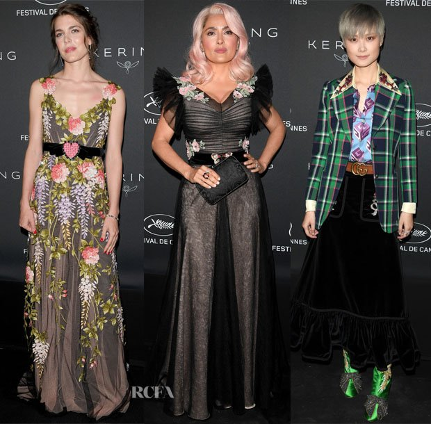 It was a Gucci-fest at the  Kering Women In Motion Cannes Dinner https://t.co/Y5nVFvoQnI