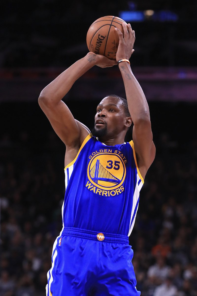 In a series-clinching Game 4, Kevin Durant scored 29 PTS on just 13 fi...